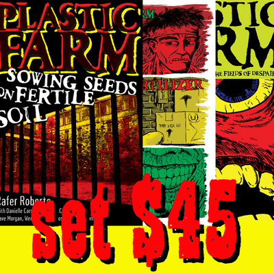 Plastic farm collected volumes 1-3 set