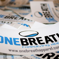 One Breath Logo Stickers