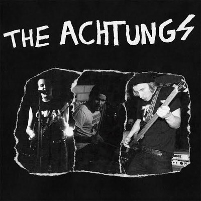 The achtungs - full of hate lp