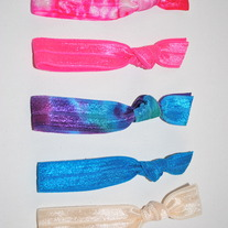 The Gabby Set- 5 No-Crease Hair Ties