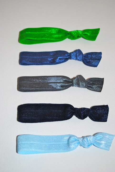 The Amy Set- 5 No-Crease Hair Ties