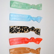 The Elle Set- 5 No-Crease Hair Ties
