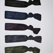 The Kate Set- 5 No-Crease Hair Ties
