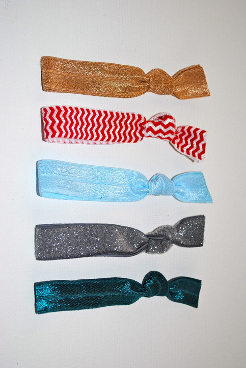 The Mary Set- 5 No-Crease Hair Ties