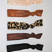 The Mary London Set- 5 No-Crease Hair Ties