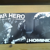 WAR HERO / HOMINID split 7""