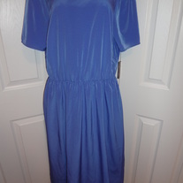 Asos Plus Size Blue Dress Size 16