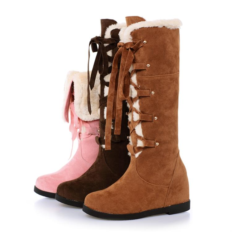 Cute Winter Snow Boots - Boot Hto