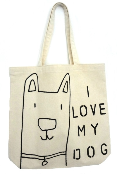 Tote Bag - I Love My Dog