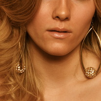 """Spotlight"" Earrings (Gold)"