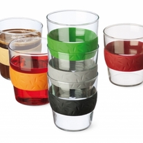 Simax Set of 6 SIT Stackable Glass Cups 8.25oz