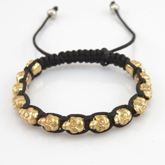 Cool Skull Bracelet Gold Dollar Jewelry 1 Dollar Jewelry Store