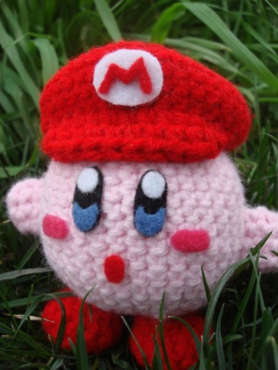 Crochet Patterns Amigurumi Monkey : LEESASAUR Kirby Mario Amigurumi Online Store Powered ...