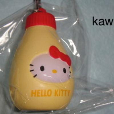 *rare*hello kitty mayonnaise squishy