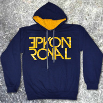 Hometown Pull Over (navy/gold)
