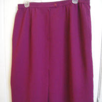Purple Skirt Sz 20