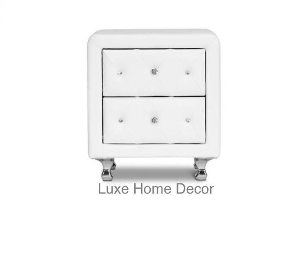 Mason Nightstand Luxe Home Decor Furnishings Online