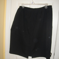 Black Skirt Sz 24W