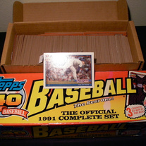 Topps '91 Set + More