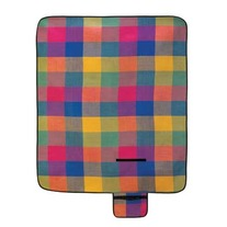 Modern Plaid Folding Picnic Mat