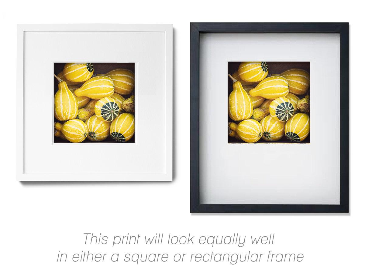 Kitchen Art, Fall Photography, Autumn Wall Art, Yellow, Green ...