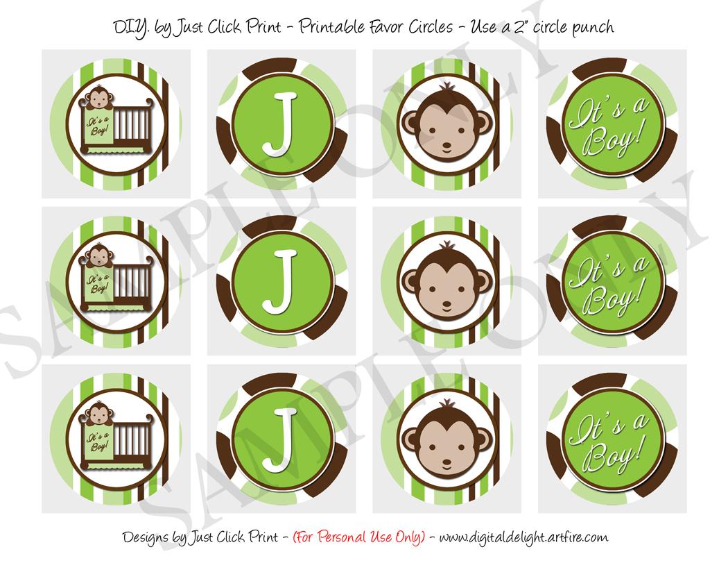 Mod monkey green brown baby shower photo invitation printable just mod monkey green brown baby shower photo invitation printable thumbnail 1 filmwisefo
