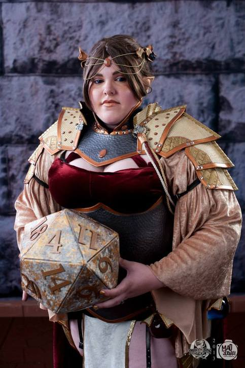 9337615 Cosplay Print 1 Half Elf Paladin Dungeons And Dragons Miniature on White Home Office Furniture Collections