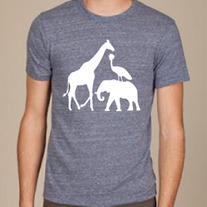 Uganda Wildlife Tee - Men's