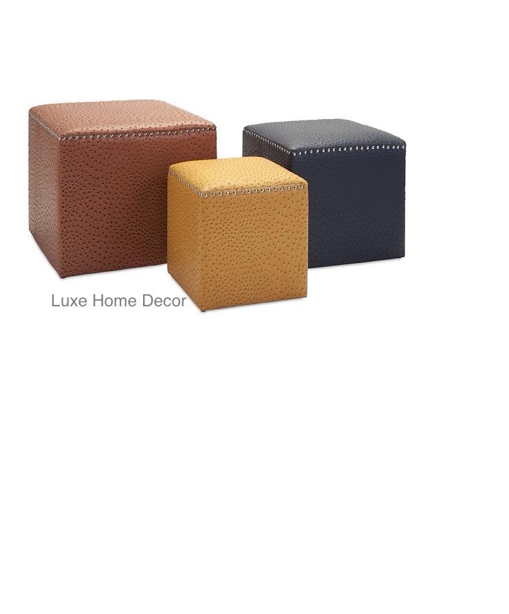 keys ottoman set 183 luxe home decor furnishings 183 online