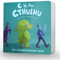 C is for Cthulhu Lovecraft Board Book