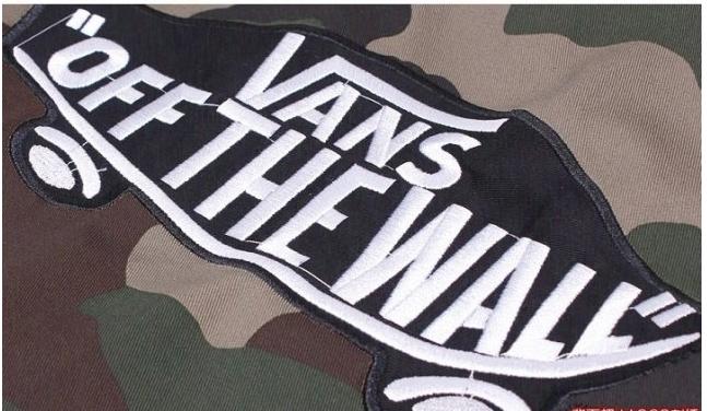 vans off the wall camo jacket