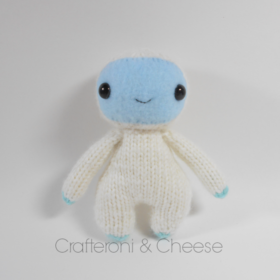 Amigurumi Wool : Amigurumi Knit Yeti Plush ? Crafteroni & Cheese ? Online ...