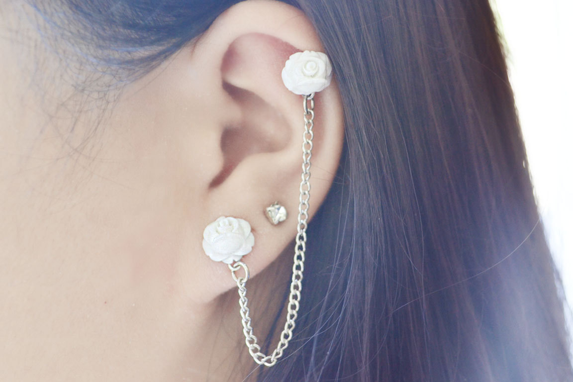 mini blooming cartilage earring pair 183 of lovely