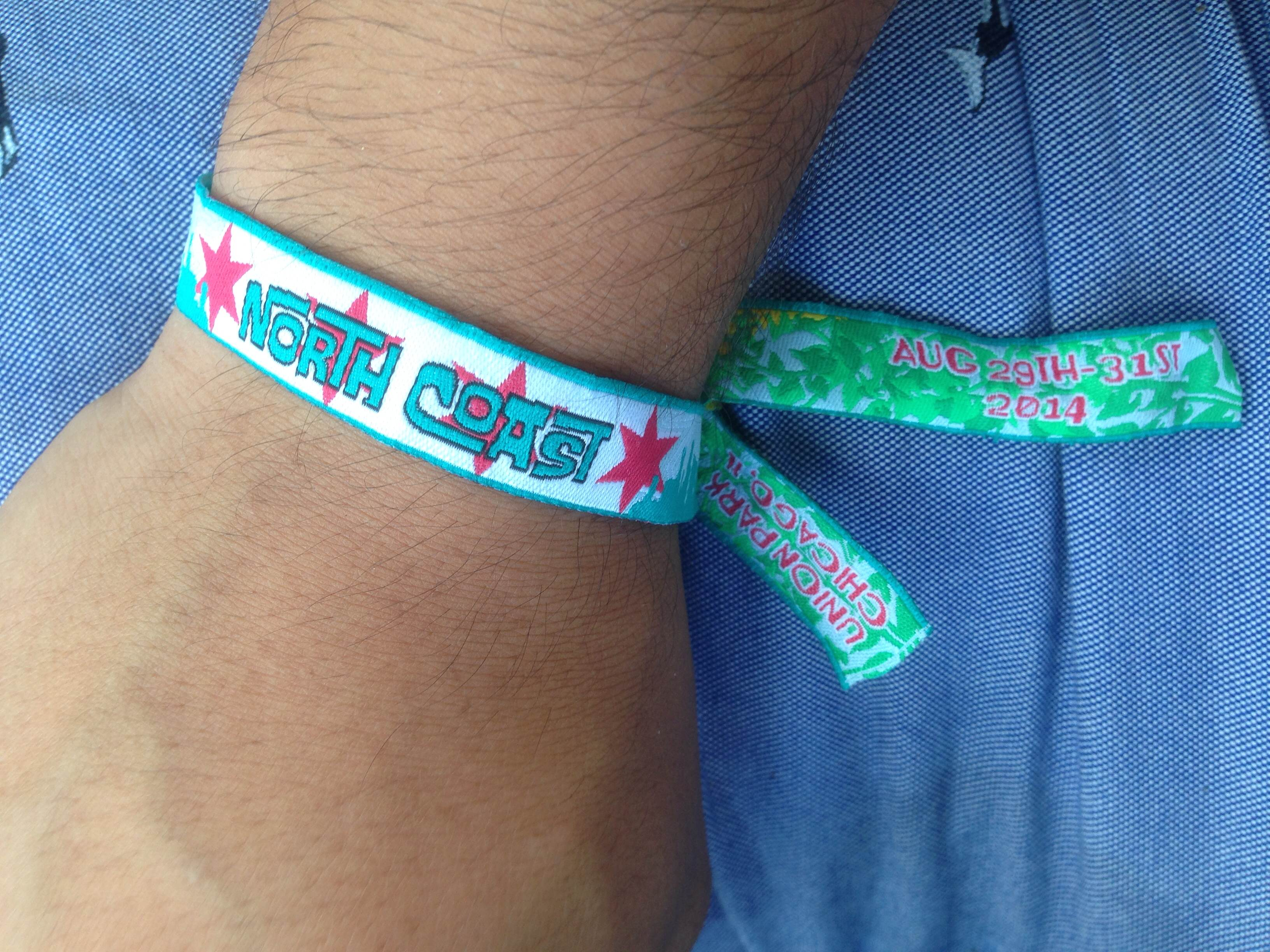 photo festival ticket day chimmyville wristband to bracelet reading obligatory music