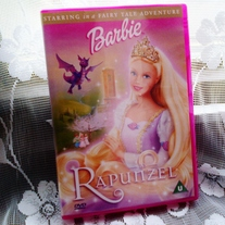 Barbie Rapunzel DVD