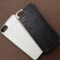 iPhone 5 Case - Black Glitter or White Glitter