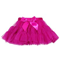 Laura Dare Girls Pettiskirt- Fuschia