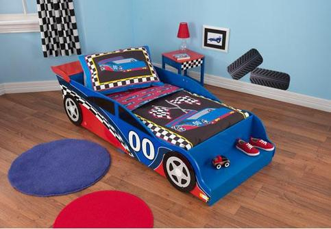 Nascar Bed Toddler Luxe Home Decor Furnishings Online Store