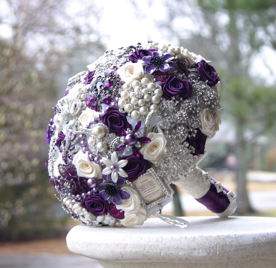 Bridal Bouquet Brooches : Pics photos brooch bouquet wedding
