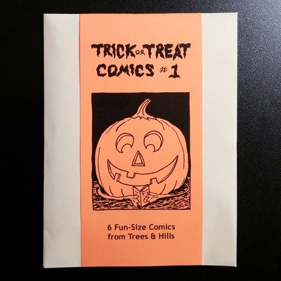 Trick or treat comics #1 by trees & hills