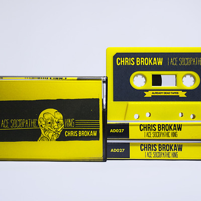 Chris brokaw 'i ace sociopathic king' - cassette store day exclusive