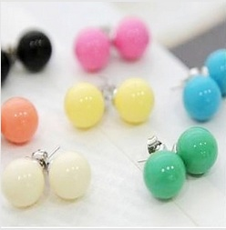 studs jewelry multi earring earrings colored with stud clip big contemporary onn