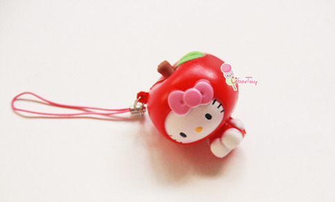 Squishy Collection Hello Kitty : *Rare* Hello Kitty in Fruit Costumes Collection -Apple (Licensed) ? Uber Tiny ? Online Store ...