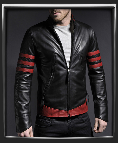 Trendy leather jackets for men