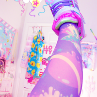 Melty Galaxy Tights - Thumbnail 1