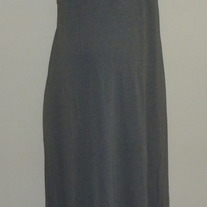 Long Gray Dress-Duo Maternity Size Medium