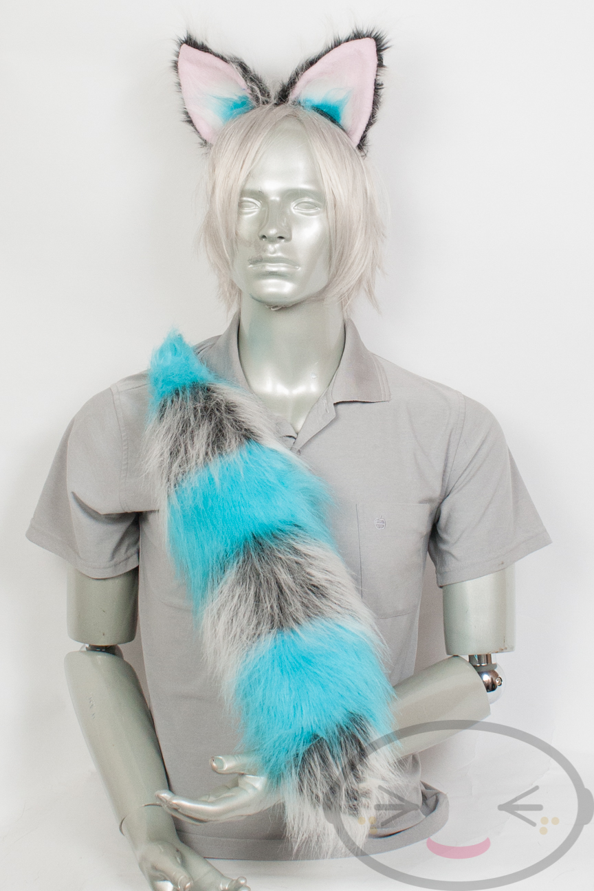 Movie Cheshire Cat Tail and//or Ears Cosplay Accessories
