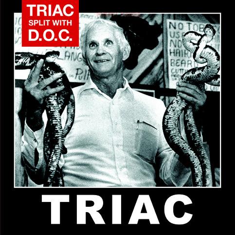 TRIAC / DISCIPLES OF CHRIST - Split  LP