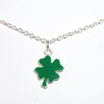 Cutout Shamrock Necklace