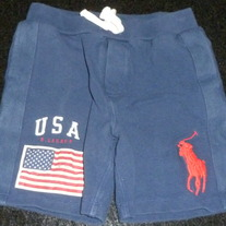 Navy Blue Shorts-Polo Ralph Lauren Size 2T